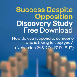 Discovery Study - Success Despite Opposition - Free Download