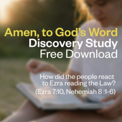 """Discovery Study - """"Amen, to God's Word"""" – Free Download"""