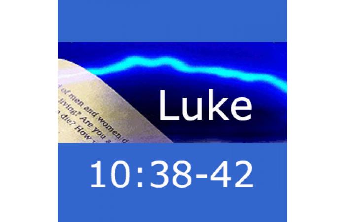 Lightning Study Luke 10:38-42 - Free Download