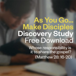 Discovery Study - Matthew 28:16 – 20 – Free Download