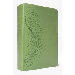 New Inductive Study Bible (NASB) - Green 'Milano Softone' Cover (Revised 2013)