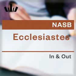 I&O Workbook (NASB) - Ecclesiastes