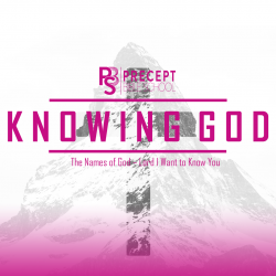 Precept Bible School - KNOWING GOD -  Lord I Want to Know You - August 2021 £60