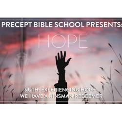 Precept Bible School ONLINE ZOOM - HOPE - Ruth - November 2020 £65