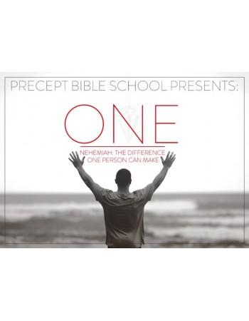 Precept Bible School - ONE - Nehemiah - August 2019 £80