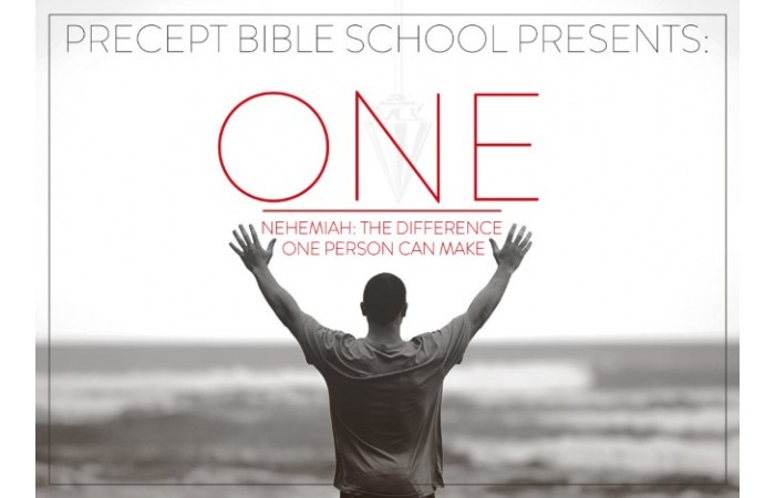 Precept Bible School - ONE - Nehemiah - November 2021 £80