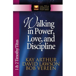 NISS - 1 & 2 Timothy, Titus - Walking In Power, Love, and Discipline