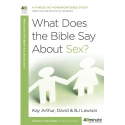 40 Minute - What Does The Bible Say About Sex?