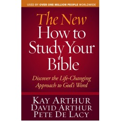 Bible Study Tools - The New How to Study Your Bible (Old cover same inside)