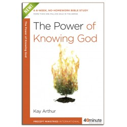 40 Minute - The Power of Knowing God