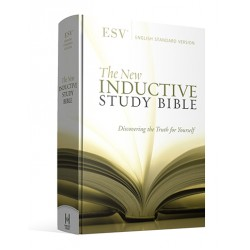 New Inductive Study Bible (ESV) - Hardcover (Revised 2013)