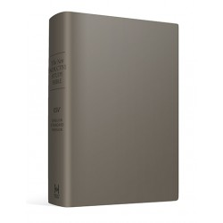 New Inductive Study Bible (ESV) - Charcoal 'Milano Softone' Cover (Revised 2013)