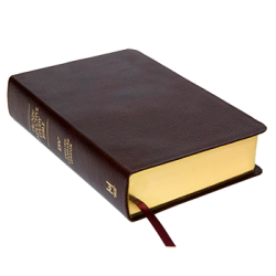 New Inductive Study Bible (ESV) - Burgundy Genuine Leather Cover (Revised 2013)