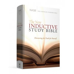New Inductive Study Bible (NASB) - Hardcover (Revised 2013)