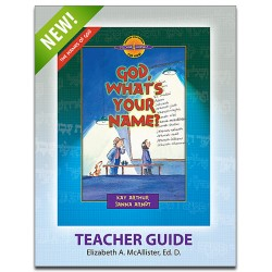 D4Y Teacher's Guide - God, What's Your Name?