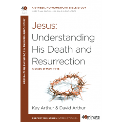40 Minute - Jesus: Understanding His Death And Resurrection (A study of Mark chapters 14-16)