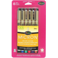 Bible Study Tools - Micron Writing Pens (6-Colour Pack)