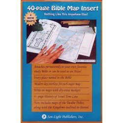 Bible Study Tools - Bible Map Insert
