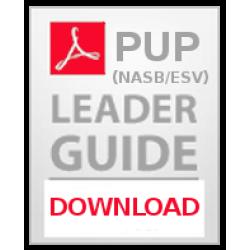 Precept Upon Precept (PUP) - Leader Guides