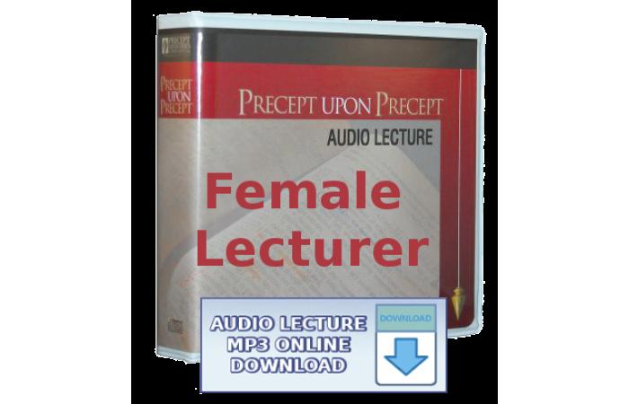PUP and I&O Series - Ezra & Haggai - Companion Audio Lecture Set (Kay Arthur) - mp3 online download